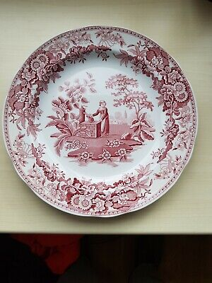 The Spode Archive Collection Girl At Well10inch across good condition.
