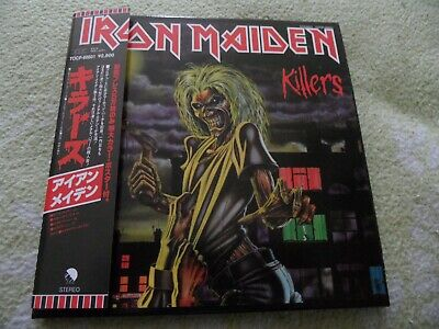 Iron Maiden-Killers CD Mini LP  OBI Poster