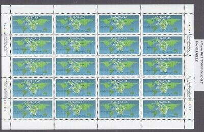 Canada - Mint Sheet Of 20 Stamps - Vfnh - Scott 1806 - Universal Postal Union.
