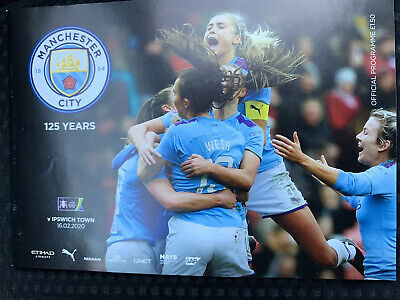 Man City FC Women v Ipswich Town FC Women Programme (Sesson 2019-2020)