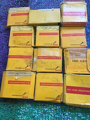 Lot of 12 Mystery Rolls of /Kodachrome / II Film - Exposed/Undeveloped Unknown