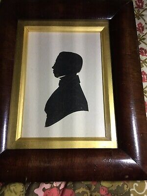 Early 19th century English cutout silhouette