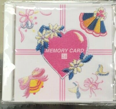Janome Sewing Machine Embroidery Memory Card 24 Special Occasion Series Craft