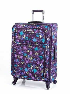 """Ricardo Beverly Hills CALIFORNIA 2.0 25""""  Spinner Luggage Print Lily Combo"""