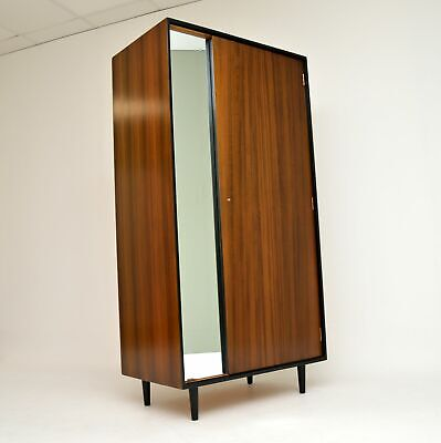 WALNUT RETRO WARDROBE BY JOHN & SYLVIA REID FOR STAG C RANGE VINTAGE 1950's