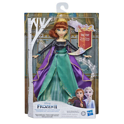 Frozen II Finale Singing Doll Elsa or Anna (Choose Character)