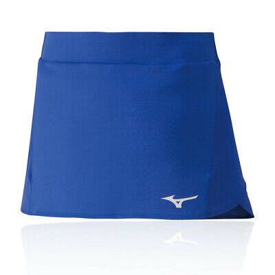 Mizuno Womens Flex Skort - Blue Sports Tennis Breathable Reflective Lightweight