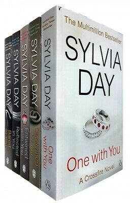 Sylvia Day Crossfire Series 5 Books Collection Set NEW