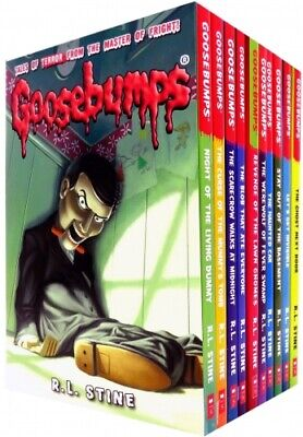 Goosebumps Horrorland Series 10 Books Collection Set by R L Stine  Classic Cover