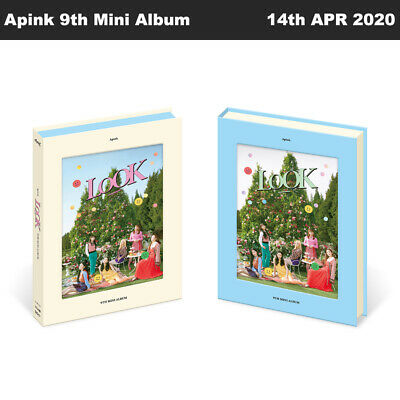 Apink LOOK 9th Mini Album CD+Photobook+Photocard+Sticker+Etc+Tracking Number