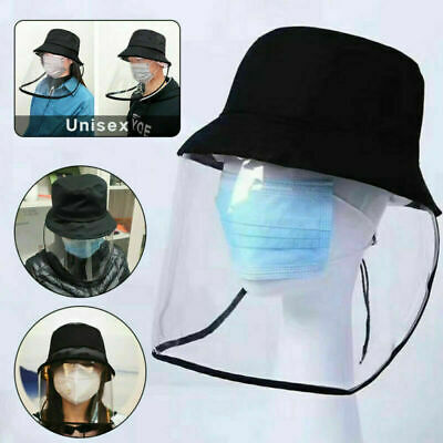 Anti Spitting Saliva Hat Cap Splash Face Shield Transparent Protection Cover