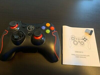 EasySMX ESM-9013 Wireless Gamepad Joystick Game Controller Compatible with PC PS