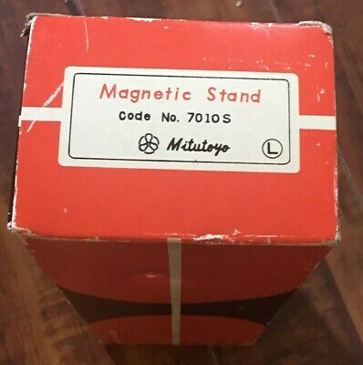 Mitutoyo Magnetic Stand 7010S -For Dial Indicator & Gauge