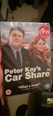 SEALED Peter Kay's Car Share - Series 1 [DVD]  *New and Sealed*
