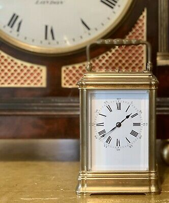Henri Jacot French Carriage Clock C.1890 - Fully Serviced & Guaranteed