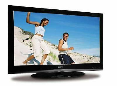 42 inch Sanyo CE42FH08 Full HD LCD TV 1080p USB PC Digital Freeview Television