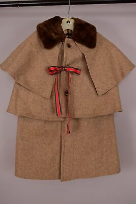 Vtg. Charles Dickens Fair Child's Coat / Outerwear