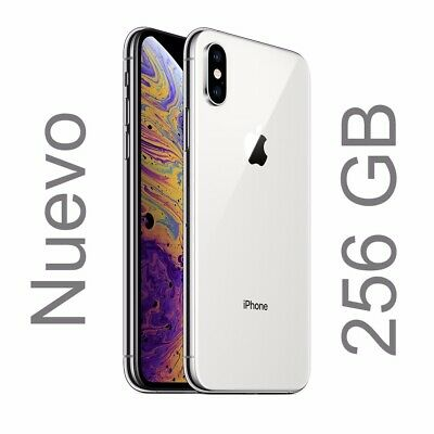 Apple iPhone XS - 256GB - Silver - Plata  A2097 Versión Global - MTJ2QL/A. Nuevo