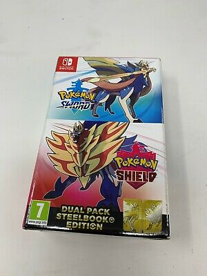Pokemon Sword and Shield Dual Pack Steelbook Edition (Nintendo Switch)