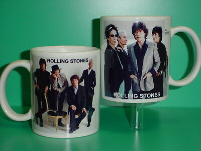 ROLLING STONES - Mick Jagger - with 2 Photos - Designer Collectible GIFT Mug 01