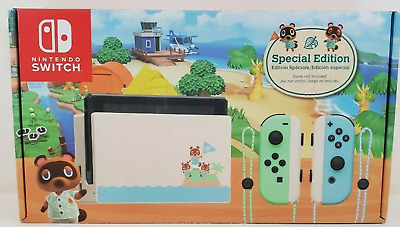 Nintendo Switch Console Animal Crossing Special Edition - RARE - PREORDER