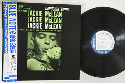 LP JACKIE MCLEAN Capuchin Swing BST84038 BLUE NOTE JAPAN Vinyl OBI