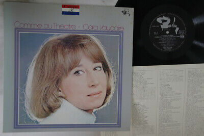 LP CORA VAUCAIRE Comme Au Theatre GXF10 BARCLAY JAPAN Vinyl