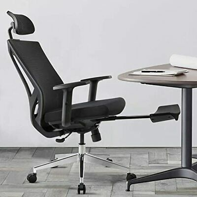 Ergonomic Office Desk Chair High Back Mesh Desk Chair with Height Adjustable an