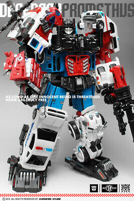 NEW TFC Toys Transformers Prometheus Defensor Blades Verti-Aid Figure In Stock