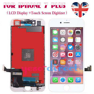 For iPhone 7 Plus Retina LCD Screen Replacement Display Touch Digitizer White
