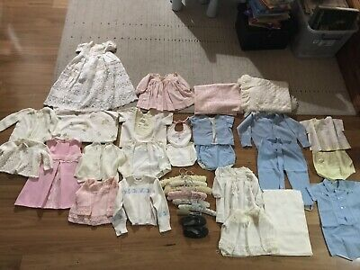 Beautiful vintage clothing bulk Baby Collectors Items Made In Sydney