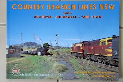 NSW  -  Country Branch Lines  - Part 4  -  Train Hobby Publications
