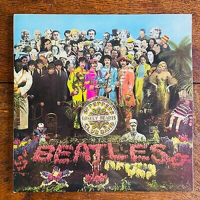 "The Beatles Sgt. Pepper's Lonely Hearts Club Ban 12"" Vinyl LP 1973 Reissue"