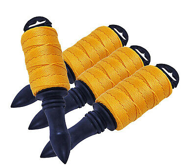 82M Builders String Brick Line Construction Fencing Twine Cord Nylon Braided
