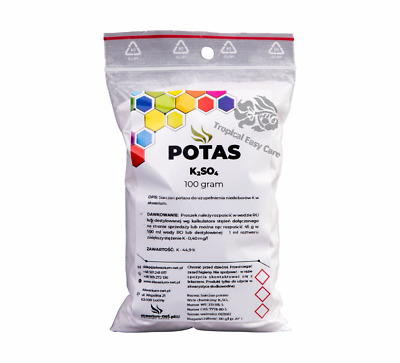fertilizer,plant food,K,Potssium,K2SO4,aquarium,macro element,