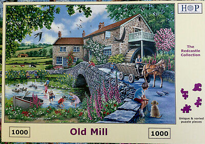 HOP JIGSAW 1000 Pieces - Old Mill