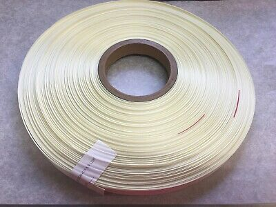 """Cream Double Sided Satin Ribbon 5/8"""" 200 yard yd Sewing Craft Bow, NOS"""