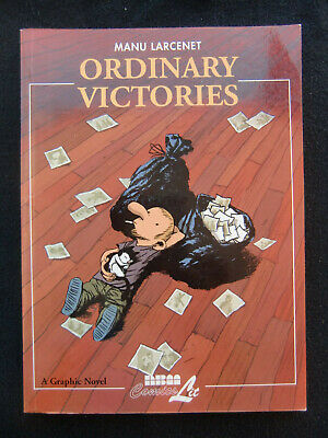 Manu Larcenet ORDINARY VICTORIES Graphic Novel English Der Alltägliche Kampf