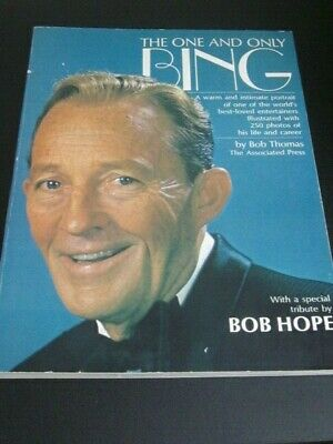 The One And Only Bing-Coffee table book by Bob Thomas 1977