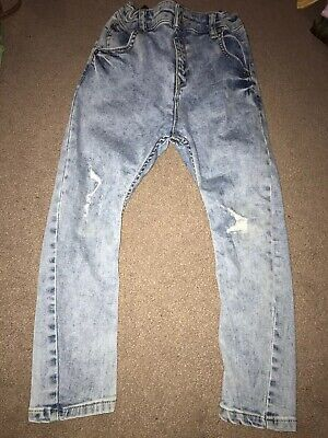 Boys River Island Distressed Jeans Age 6 Years