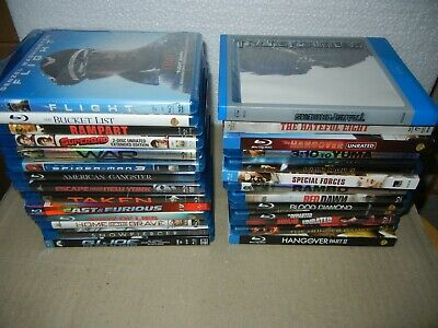 Blu-Ray  movies lot of 27  Action, Adventure, Suspense, War NO DIGITAL CODES