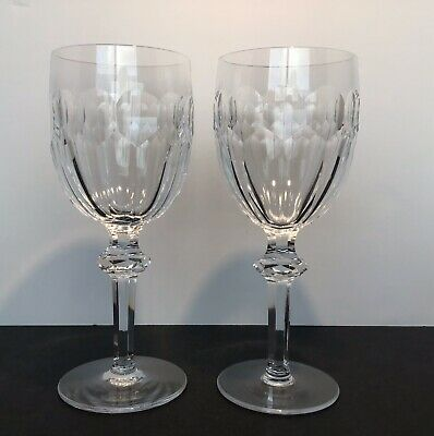 """Waterford Crystal Curraghmore  Hock Wine Glass  7 1/2"""" - Knob Stem - Excellent!!"""