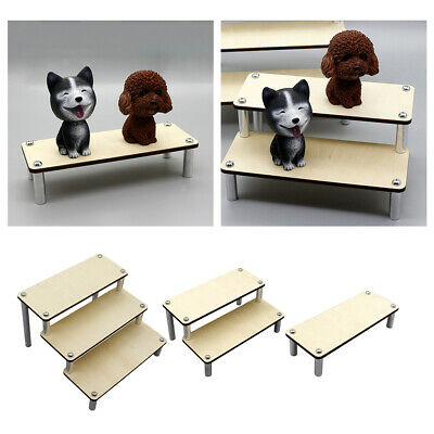 Wood Rack Toy Holder Collections Storage Ladder Organizers Perfume Display Stand