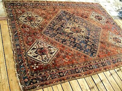 1890s  ANTIQUE    BIG  RUG YOU MUST SEE  HIGHLY COLLECTIBLE   FINE ITEM