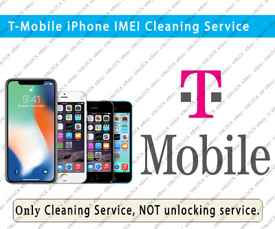 Cleaning Service T-Mobile iPhone Xs Max/Xs/Xr/X/8/8+/7/7+/6S/6S etc. PREMIUM