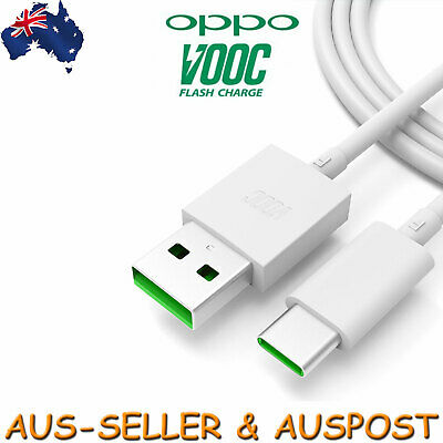 Genuine Oppo Charger Type-C Cable Data Cord R17 Pro Find X VOOC Charger USB-C