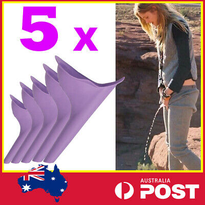 Portable Female Woman Ladies She Urinal Urine Wee Funnel Camping Travel Loo L99