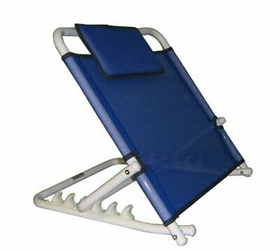 Adjustable Angle Back Rest Use Bed Strong Comfortable Folding Support Blue