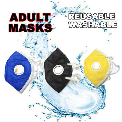 Reusable Washable Activated Carbon Filter With Respirator Filters Face Mask