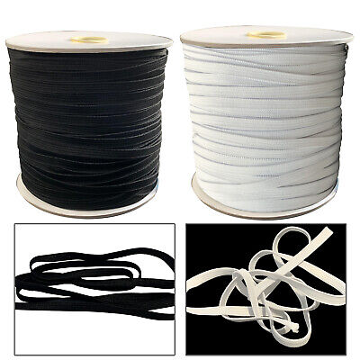 7mm Flat Elastic Bungee Rope Shock String Stretchy Cord Band Making DIY Crafts
